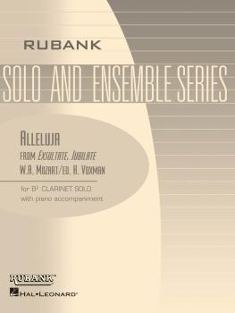 Alleluja (from Exsultate, Jubilate): Bb Clarinet Solo with Piano - Gra (HL-04476745)