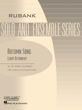 Autumn Song: Bb Bass Clarinet Solo with Piano - Grade 3 (HL-04476886)