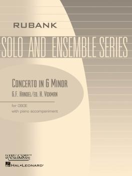 Concerto in G minor: Oboe Solo with Piano - Grade 4 (HL-04476906)