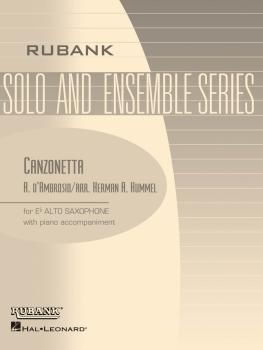 Canzonetta: Alto Saxophone Solo with Piano - Grade 3.5 (HL-04476947)
