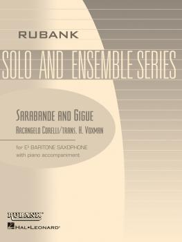 Sarabande and Gigue: Baritone Sax Solo with Piano - Grade 3 (HL-04477566)