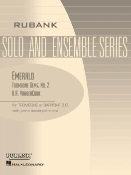 Emerald (Trombone Gems No. 2): Trombone Baritone B.C. Solo with Piano  (HL-04479253)