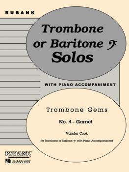 Garnet (Trombone Gems No. 4): Trombone Baritone B.C. Solo with Piano - (HL-04479255)