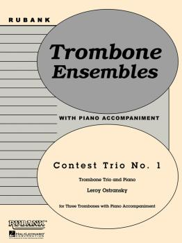 Contest Trio No. 1: Trombone Trio with Piano - Grade 3 (HL-04479264)