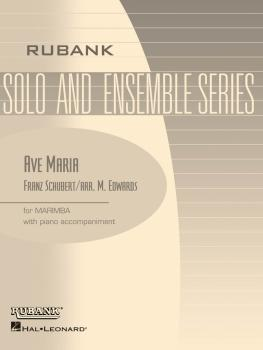Ave Maria: Marimba Solo with Piano - Grade 3 (HL-04479361)