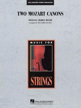 Two Mozart Canons (HL-04490646)