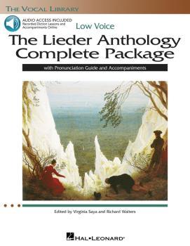 The Lieder Anthology Complete Package - Low Voice: Book/Pronunciation  (HL-00116920)
