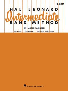 Hal Leonard Intermediate Band Method (Drums) (HL-06414100)