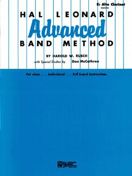 Hal Leonard Advanced Band Method (E-flat Alto Clarinet) (HL-06605700)