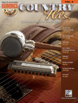 Country Hits: Harmonica Play-Along Volume 6 (HL-00001013)