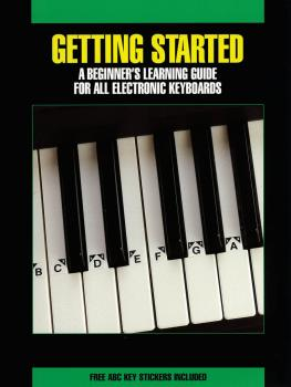 Getting Started for All Electronic Keyboards (HL-00001079)