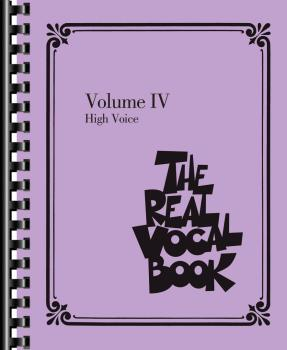 The Real Vocal Book - Volume IV (High Voice) (HL-00118318)