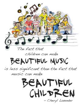 Beautiful Music, Beautiful Children Poster (HL-00118834)