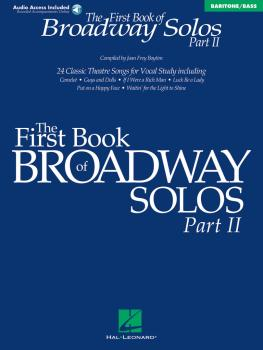 The First Book of Broadway Solos - Part II: Baritone/Bass Edition (HL-00001114)