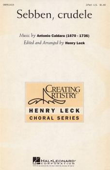 Sebben, Crudele (2-Part and Piano) (HL-08551415)