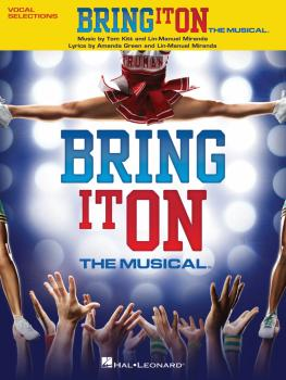 Bring It On - The Musical (Vocal Selections) (HL-00119255)