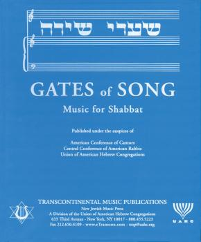 Gates of Song (Shaarei Shirah) (Music for Shabbat) (HL-00119259)