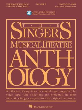 Singer's Musical Theatre Anthology - Volume 5: Baritone/Bass Book with (HL-00001165)