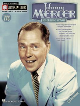 Johnny Mercer: Jazz Play-Along Volume 176 (HL-00119838)