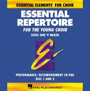 Essential Repertoire for the Young Choir: Level 1 Mixed, Performance/A (HL-08740927)