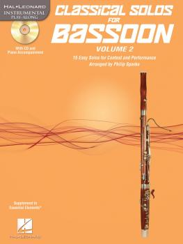 Classical Solos for Bassoon, Vol. 2: 15 Easy Solos for Contest and Per (HL-00121137)