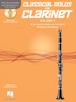 Classical Solos for Clarinet, Vol. 2: 15 Easy Solos for Contest and Pe (HL-00121138)