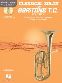 Classical Solos for Baritone T.C., Vol. 2: 15 Easy Solos for Contest a (HL-00121147)