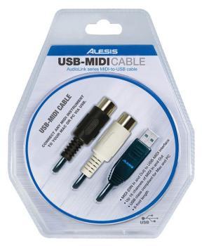 USB-MIDI Cable: AudioLink Series MIDI-to-USB Cable (AL-00121465)