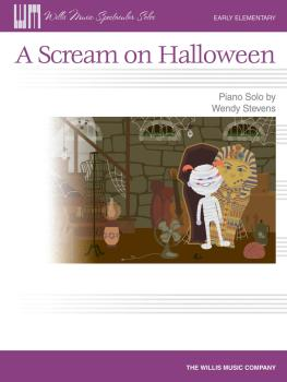 A Scream on Halloween: Early Elementary Level (HL-00121884)