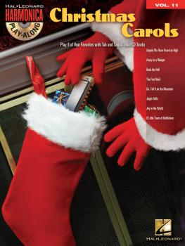 Christmas Carols: Harmonica Play-Along Volume 11 (HL-00001296)