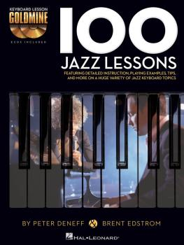 100 Jazz Lessons: Keyboard Lesson Goldmine Series Book/2-CD Pack (HL-00122261)