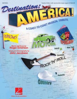 Destination: America!: A Coast-to-Coast Musical Tribute (HL-09970903)