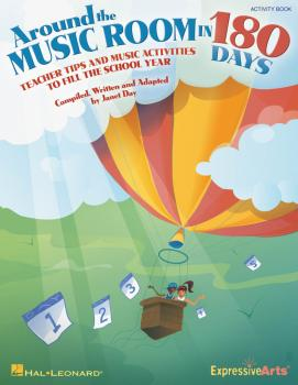 Around the Music Room in 180 Days: Teacher Tips and Music Activities t (HL-09971149)