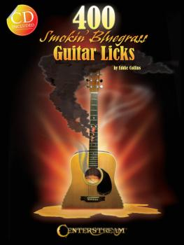 400 Smokin' Bluegrass Guitar Licks (HL-00123172)