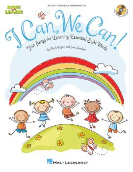 I Can, We Can!: Fun Songs for Learning Essential Sight Words (HL-09971657)