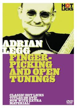 Adrian Legg - Fingerpicking & Open Tuning (HL-14001173)