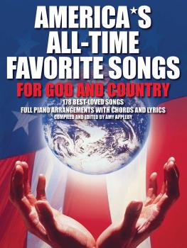 America's All-Time Favorite Songs for God and Country (P/V/G) (HL-14001752)