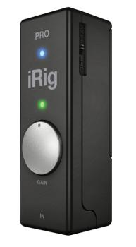 iRig(TM) Pro: Universal Audio/MIDI Interface for iOS Devices and Macs (IK-00123352)