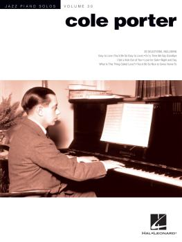 Cole Porter: Jazz Piano Solos Series Volume 30 (HL-00123364)