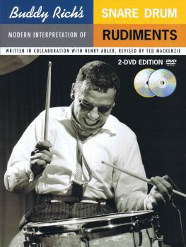 Buddy Rich's Modern Interpretation of Snare Drum Rudiments (Book/2-DVD (HL-14005289)