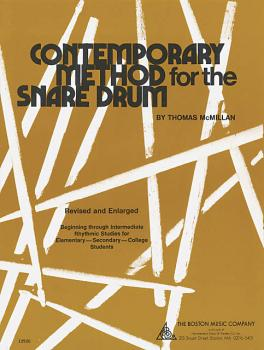 Contemporary Method for Snare Drum (HL-14007580)