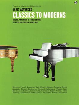 Early Advanced Classics to Moderns: Music for Millions Series (HL-14009782)