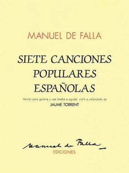 Siete Canciones Populares Españolas (For Voice and Guitar Violin/Cello (HL-14010876)