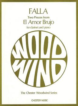 2 Pieces from El Amor Brujo (for Clarinet and Piano) (HL-14010945)