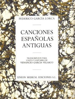 Canciones Espanolas Antiguas (Voice and Guitar) (HL-14012428)