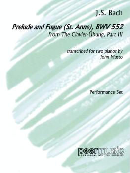 Prelude and Fugue (St. Anne), BWV 552, from The Clavier-Übung, Part II (HL-00123624)