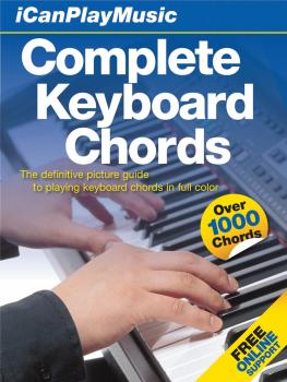 I Can Play Music: Complete Keyboard Chords (Easel-Back Book) (HL-14015890)