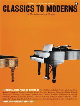 Intermediate Grades Classics to Moderns: Music for Millions Series (HL-14016140)