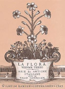 La Flora - Volume 3 (High Voice and Piano) (HL-14017045)