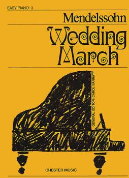 Felix Mendelssohn: Wedding March (Easy Piano) (HL-14021245)